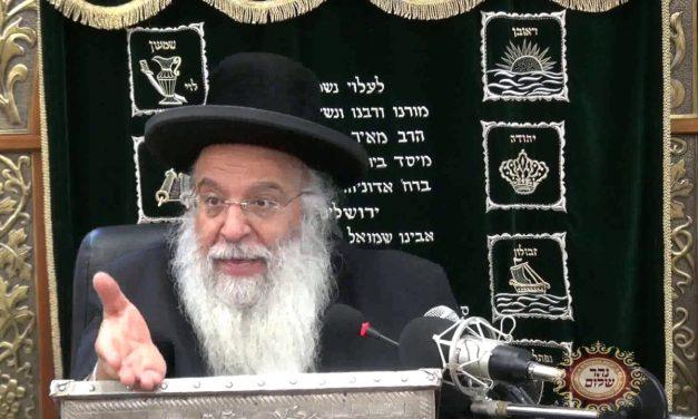 """פרשת וארא תשע""""ח הרב בניהו שמואלי"""