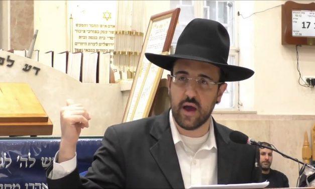 פרשת וירא תשע״ח ביה״כ משכן יהודה הרב מאיר אליהו