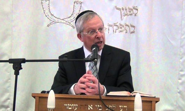 ייחוד השם בחג השבועות הרב מרדכי דוד נויגרשל