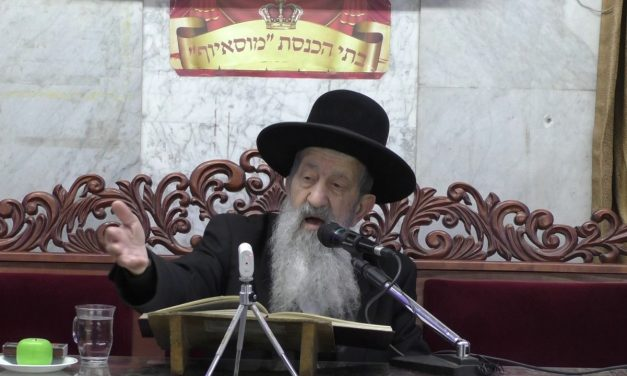 מצוה להיות מעשרה ראשונים בבית הכנסת הרב בן ציון מוצפי