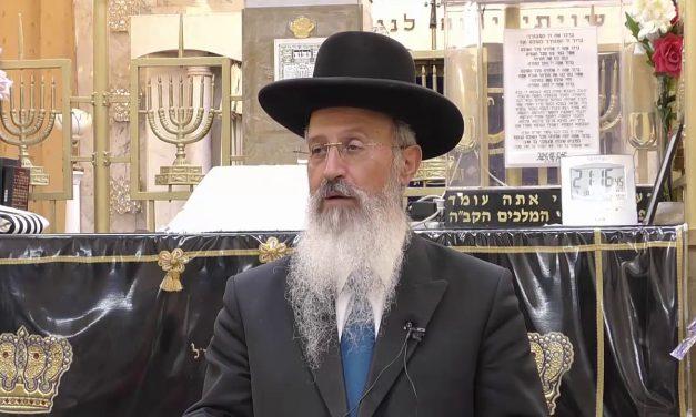 הכנות לראש השנה הרב אברהם יוסף הרב שרגא שטיינמן סליחות עם הרב גד זרביב