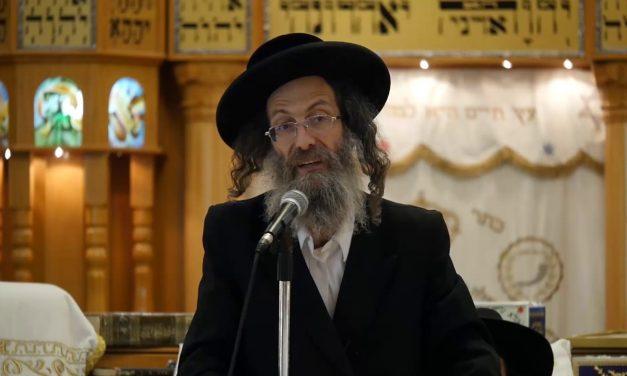 הרב אלימלך בידרמן להתחזק באמונה תן לה' לנהל לך את החיים