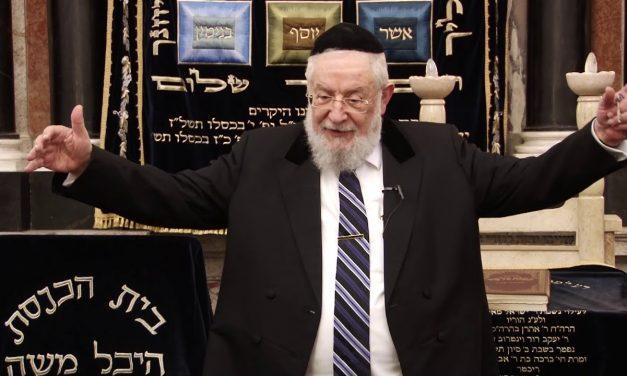 התבוללות הרב ישראל מאיר לאו